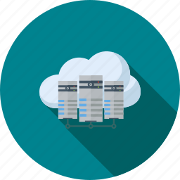 cloud, communication, computing, connection, internet, server, technology icon