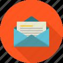 address, communication, correspondence, email, envelope, letter, mail