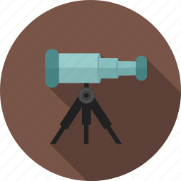 binoculars, communication, equipment, lens, optical-instrument, telescope icon