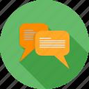 mobile, communication, chat, text, message, bubble, talk