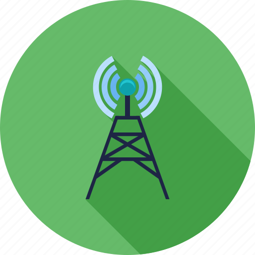 antenna, communication, signals, technology, telecom, telecommunication, tower icon