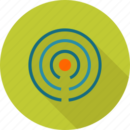 beacon, communication, connection, information, internet, signals, wi-fi icon