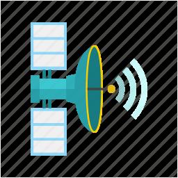 antenna, communication, dish, radar, satellite, space, wireless icon
