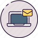 electronic mail, mesage, communication icon