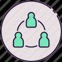 sharing, network, communication
