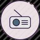 radio, media, communication
