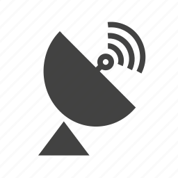 communication, dish, equipment, radar, rays, satellite, waves icon