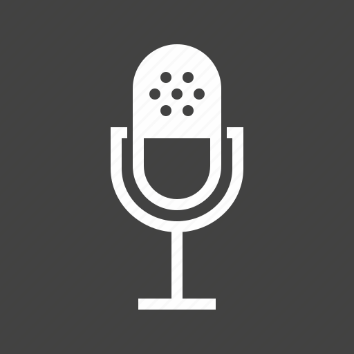 audio, communication, equipment, media, microphone, technology, voice icon
