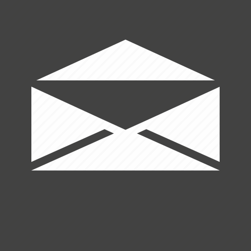 address, communication, correspondence, email, envelope, letter, mail icon