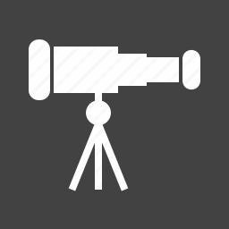 binoculars, communication, equipment, instrument, lens, optical, telescope icon