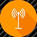 antenna, communication, radio, satellite, signals, tower, waves