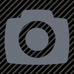 camera, digital camera, pika, simple icon