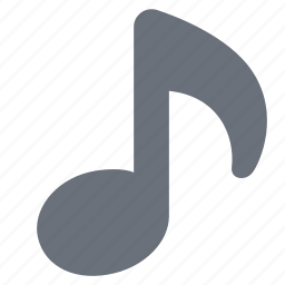 audio, music, music note, musical note, pika, simple icon