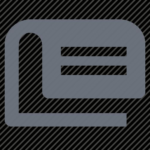 news, newspaper, pika, simple icon
