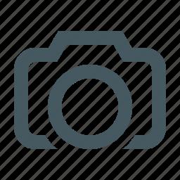 camera, digital camera, electronics, gizmo, media, multimedia, photo camera, simple icon