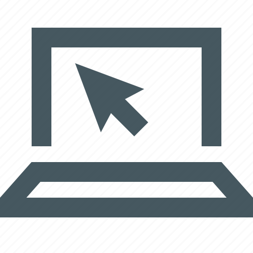 communication, computer, electronics, gizmo, laptop, macbook, media, multimedia, simple icon