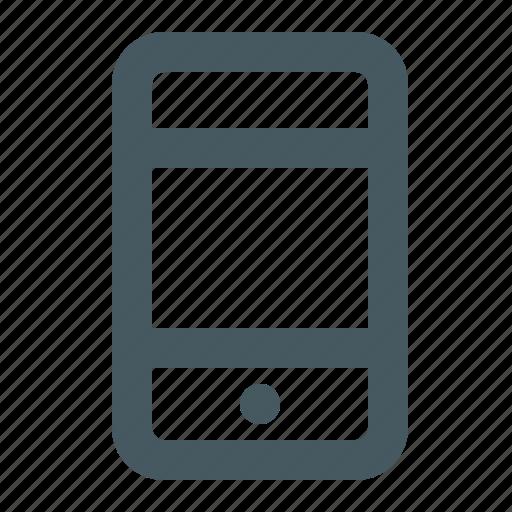 communication, electronics, gizmo, media, mobile phone, multimedia, simple, smart phone, smartphone icon