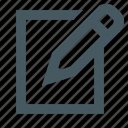 communication, edit, editing, electronics, gizmo, media, multimedia, simple, writing icon