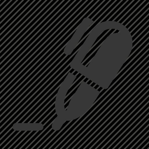 ballpoint pen, communication, electronics, pen, raw, simple, technology, write, writing icon