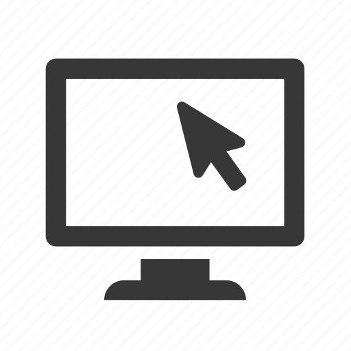 communication, computer, computer screen, electronics, raw, simple, technology icon