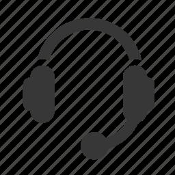 communication, customer service, electronics, head set, headset, raw, simple, technology icon