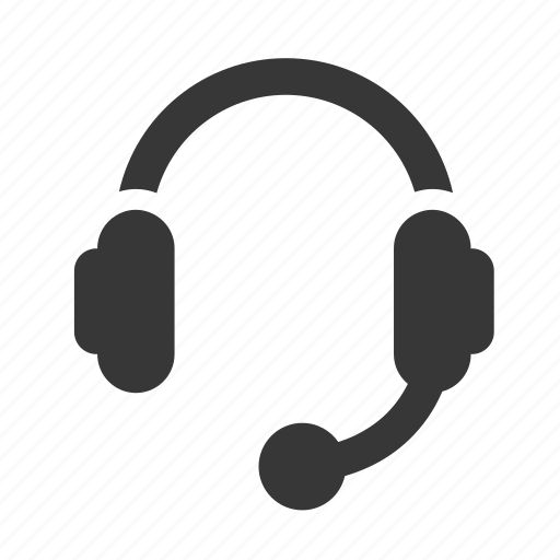 communication, customer service, electronics, head set, headset, raw, simple, technology icon