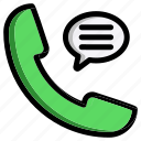 call, speech, phone, telephone, bubble, talk, message