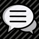 chat, message, communication, bubble, talk, conversation, speech