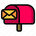 mailbox, mail, email, message, inbox, communication, envelope