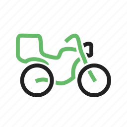 auto, automobile, bike, motorbike, motorcycle, transport, vehicle icon