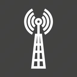 antenna, cellular, communication, signals, telecom, telecommunication, tower icon
