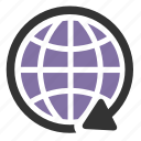 global, international, network icon