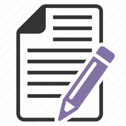 article, contract, copyediting, correct, correction, deal, document, documents, drawing, edit, editing, file, fill form, form, indite, modify, new, online order, page, paper, pen, pencil, put down, record, sign, subscription, text, write, write down icon