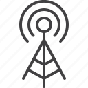 antenna, network, signal, wifi, zone icon