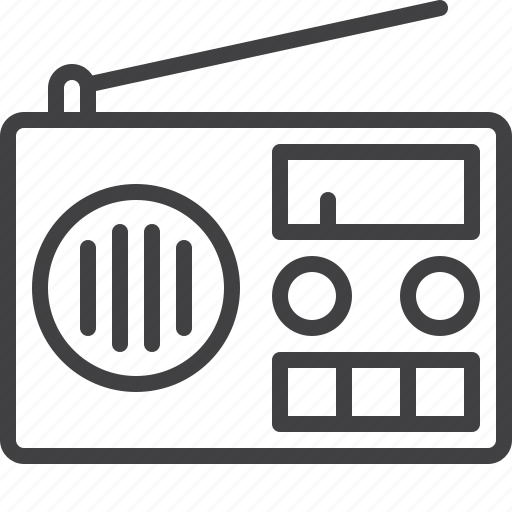 broadcast, fm, media, radio, station icon