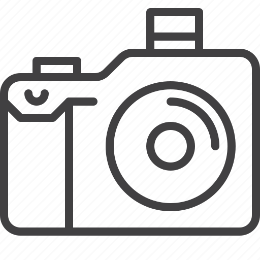 camera, digital, electronics, photo, photographer icon