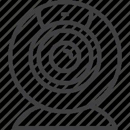 broadcast, camera, conference, video, webcam icon