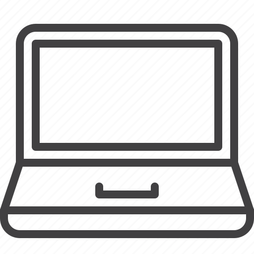 computer, electronic, laptop, notebook icon