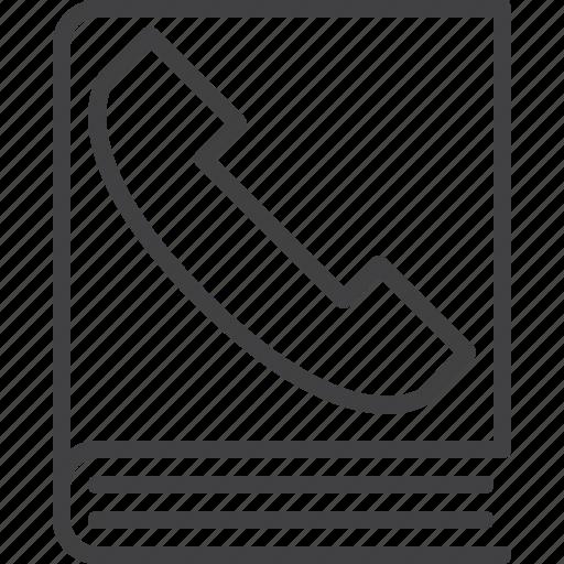 address, book, call, contact, customer, phone icon