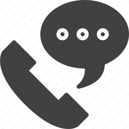 bubble, call, hotline, phone, support icon