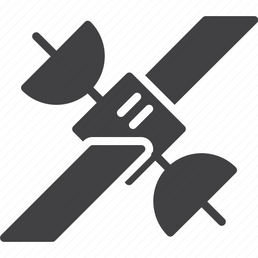 communication, satellite, signal, space icon