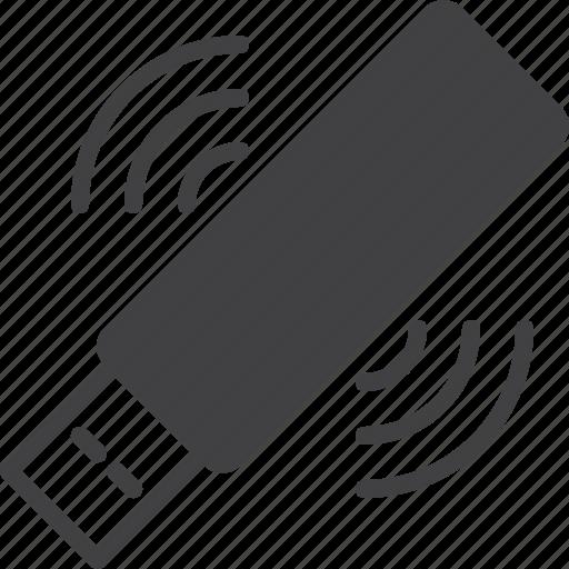 connection, key, stick, usb, wi-fi, wifi icon