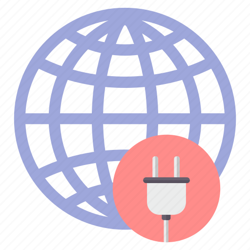 battery, connectivity, electricity, global, plug, power icon
