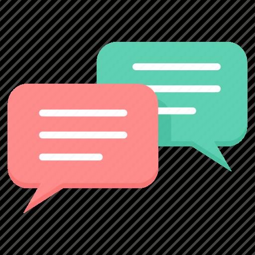 bubble, chat, communication, conversation, message, messanger, talk icon