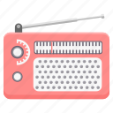 audio, fm, music, radio, signal, sound, wireless icon