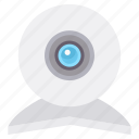 camera, chat, video, videocall, webcam icon