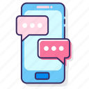 messaging, chat app, messaging app, mobile