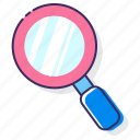 discover, discovery, find, inspection, magnifier, magnifying glass, search icon