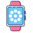 smart, smart watch, smartwatch, watch icon