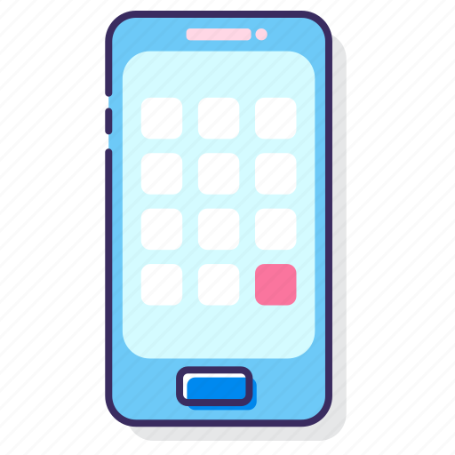 mobile, mobile app, phone, smartphone icon
